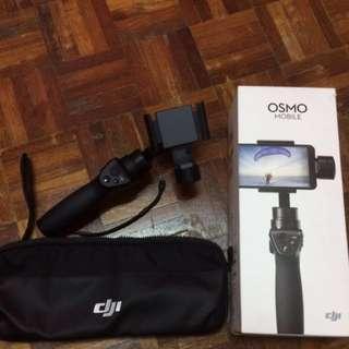 Dji Osmo Mobile Black Stabilizers (Under Warranty until April 2018)