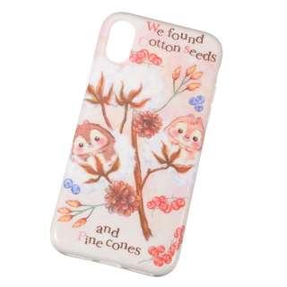 減價中 🇯🇵日本代購 迪士尼 Disney Chip n Dale iPhone X case 全包邊