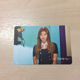 Twice - Sana Photocard