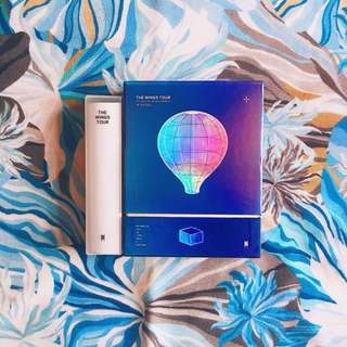 BTS - THE WINGS TOUR DVD [UNSEALED]