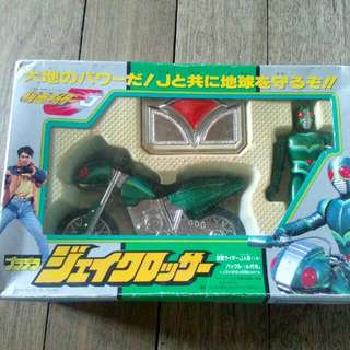 Bandai 1994 Japan Kamen Rider J With Buckle