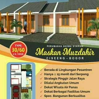 Dijual perumahan syariah di Ciseeng Bogor