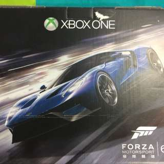 Xbox One limited  Edition Forza 6