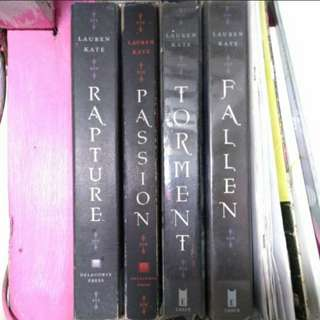 Lauren Kate Fallen Novels