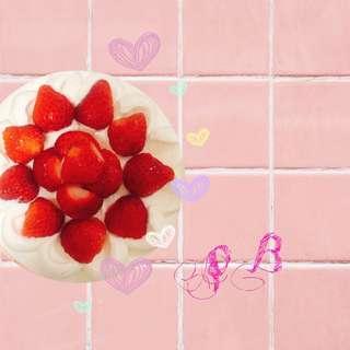 季節限定-草莓乳酪蛋糕
