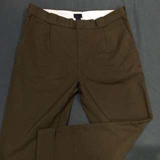 H&M Twill Cropped Pants