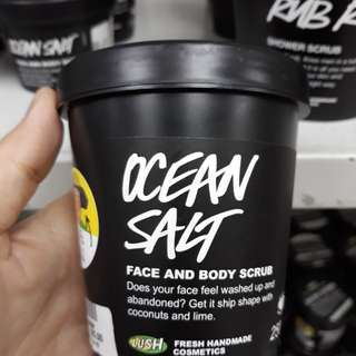 Ocean Salt face & body scrub