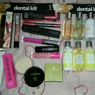 Repriced 21pcs Take All Beauty Bundle