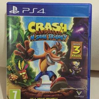 Game ps 4 crash bandicoot
