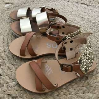 Cotton on kids sandals (combo)