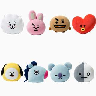 BTS BT21 OFFICIAL FACE CUSHION 30CM