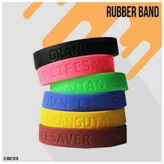Orangutan Lifesaver Rubber Band