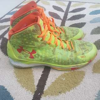 Sepatu basket stephen curry 1 replika sz 45 hanya 300rb