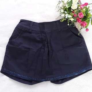 Navy Blue Hot pants