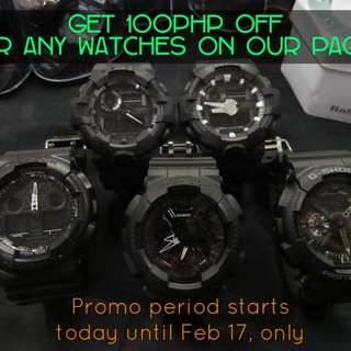 GSHOCK WATCHES ARE ON SALE!!!