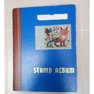 My stamp album