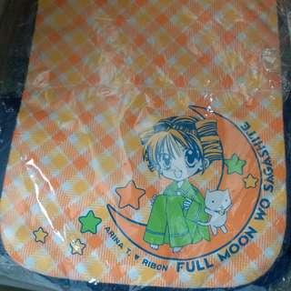 尋找滿月星河滿月牛仔布側揹袋 正版日本ribon應募品