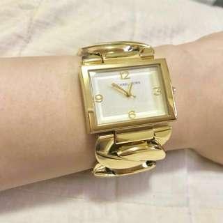 Authentic Michael Kors MK3133 Women's Gold Tone Bracelet Watch