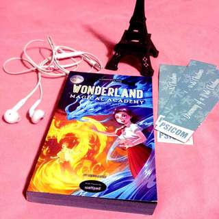 POP FICTION ( Cloak ) Wonderland: Magical Academy: Touch of fire by missmapple