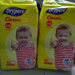 Drypers Classic saiz XXL
