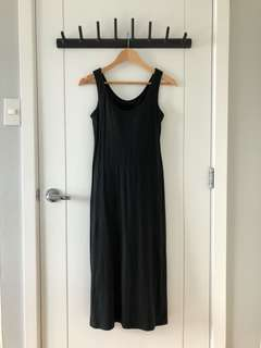 Uniqlo Black Mid Bra Dress