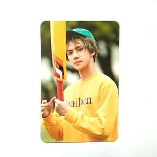exo shun happy lotto box photocard (RARE)