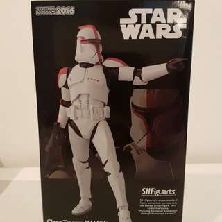 S.H. Figuarts Star wars Clone Trooper Phase Captain
