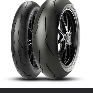 Pirelli sc2 v2 190/55 120/70