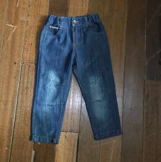 Justees maong pants size 3T