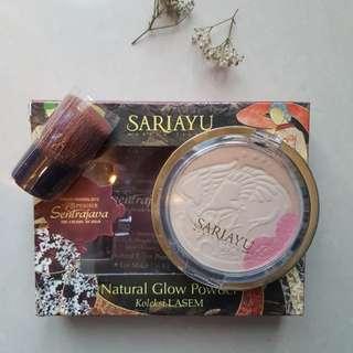 Sariayu Natural Glow Powder koleksi Lasem