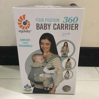 (1pc instock) - Ergobaby 4 Position Baby Carrier