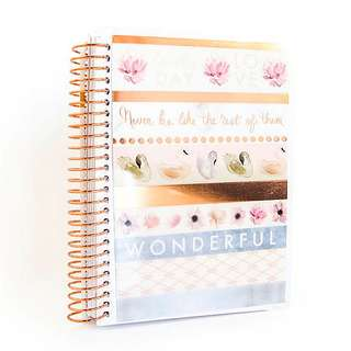 Creative Year Serenity Stripes Mini Planner by Recollections
