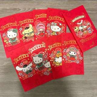 Sanrio Red Packets (a set of 8 pcs)