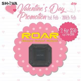 [VALENTINES DAY BUNDLE OF 2 PROMO] SHAVA ROAR Mini Bluetooth Waterproof/Dustproof/Shockproof Speaker
