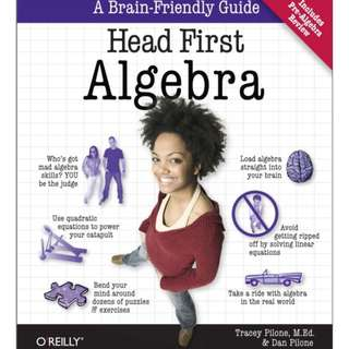 Ebook Head First Algebra