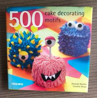 PageOne 500 cake decorating motifs book