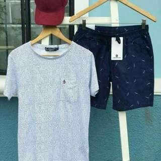 Shirt and short