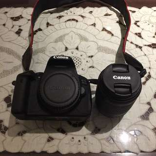 Canon EOS 700D + 18-55mm kit lens