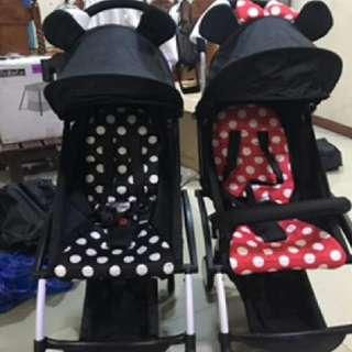 Portable pushchair/Stroller
