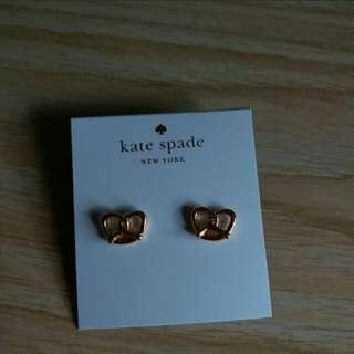 Kate spade 皇冠耳環