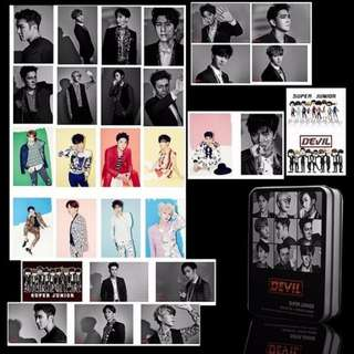 SUPER JUNIOR POLAROID 30PCS