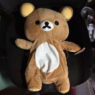 鬆弛熊造型背囊