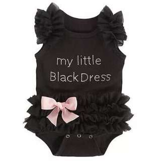 Tutu Romper My Little Black Dress