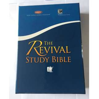 The Revival Study Bible, NKJV, Includes DVD