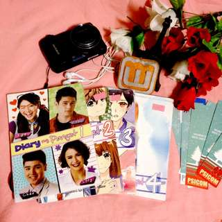 PSICOM: Diary ng Panget Series by haveyouseenthisgirl ( 4 Books )