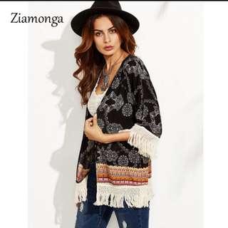 NEW Bohemian Kimono Cardigan