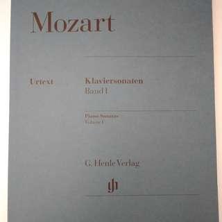 Mozart Piano Sonatas Volume I