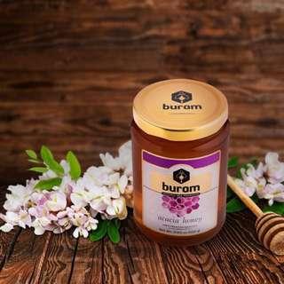 歐洲蜂巢蜜品牌 Buram Acacia Honey 500G 槐花蜜