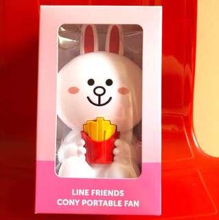 Line Friends Cony Portable Fan