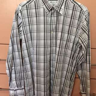 Men's Long Sleeve Dress Shirt Medium